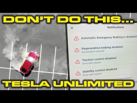 TESLA BUG EXPOSED * How to turn off all restrictions & Plaid Mode Discussion