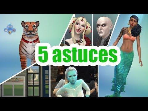 5 DÉTAILS INAPERÇUS DANS LES SIMS 4