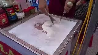 Xem anh zai làm kem cuộn Thái thấy mà thèm | INVISIBLE DRAGON