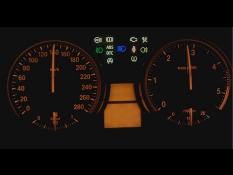 Bmw Dashboard Cluster Hidden Menu Gauge Test Coolant Temp