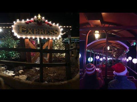 Christmas Town Express: Busch Gardens Williamsburg
