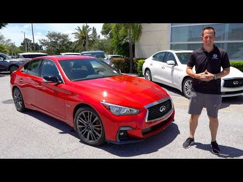 Should You BUY A 2019 Infiniti Q50 Red Sport 400 Or Wait For A REDESIGN?