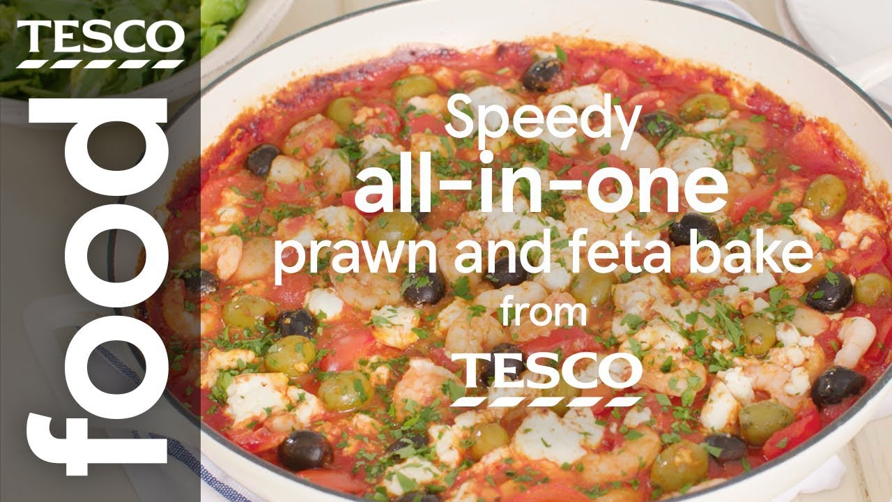 Speedy Prawn And Feta Bake Tesco Food
