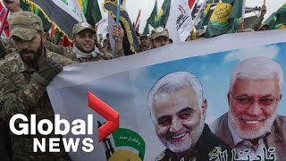 Thousands mourn death of top Iranian general killed in U.S. airstrike