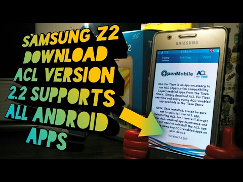 Samsung Z2 Acl Version 2 2 Download Enjoy All Android