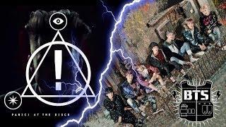Реакция не к-попера VS реакция не рокера: BTS-Not Today & Panic! At The Disco- LA Devotee