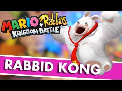 Mario + Rabbids Kingdom Battle Gameplay - FIRST BOSS! RABBID KONG! - Mario Rabbids Kingdom Battle