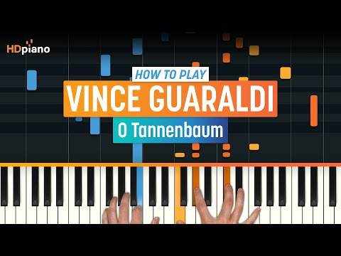 Oh Tannenbaum Keyboard.How To Play O Tannenbaum By Vince Guaraldi Hdpiano Part 1