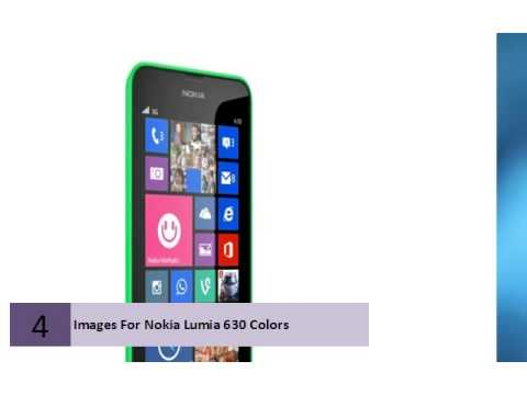 Images For Nokia Lumia 630 Colors