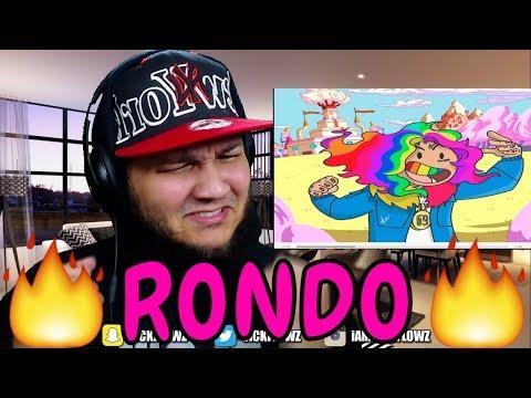 🔥🔥 REACTION!! 🔥🔥 6IX9INE  RONDO feat Tory Lanez & Young Thug
