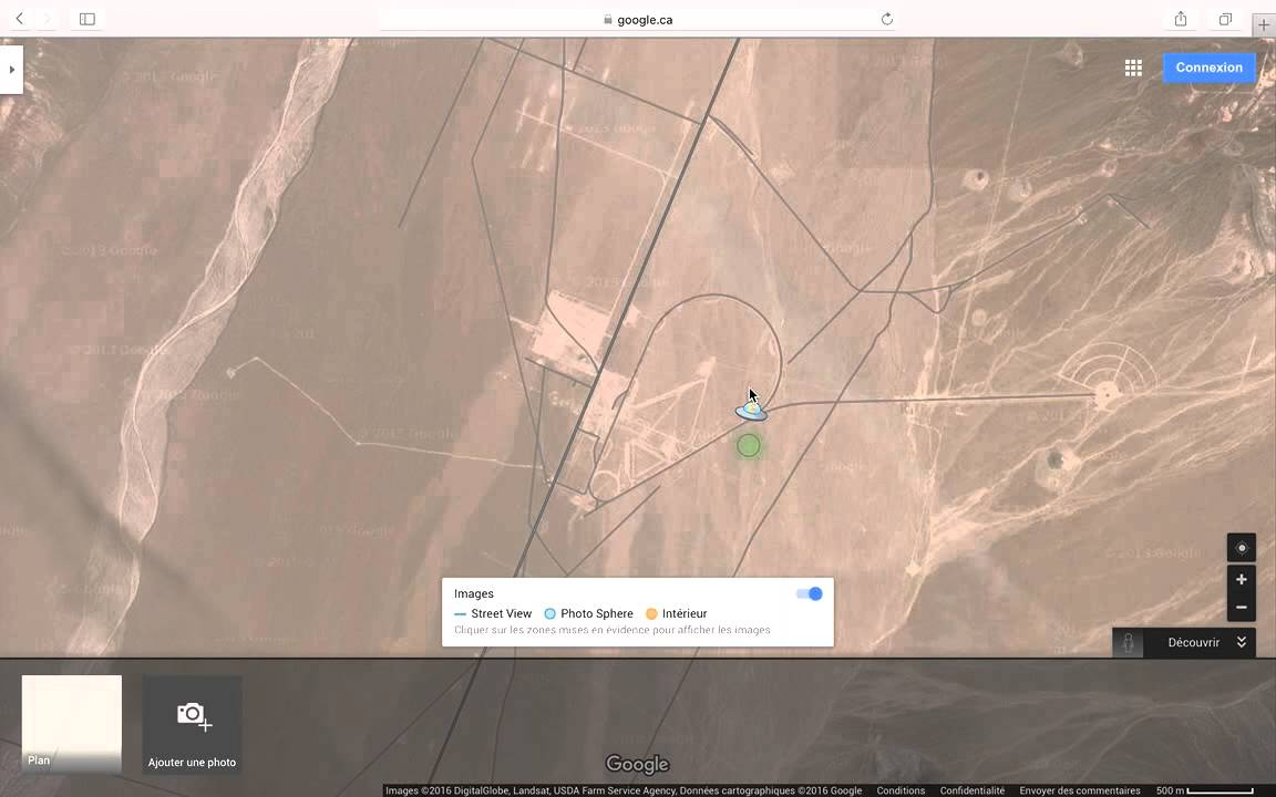 Area 51 in google maps