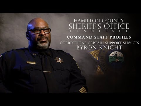HCSO Command Staff Profiles 2018 - Captain Byron Knight