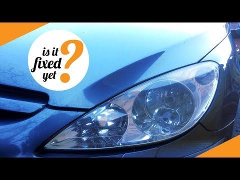 Replacing H7 Headlight Bulb in Peugeot 307 SW (2005)