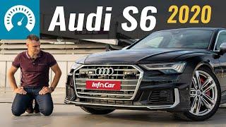 Новая S6: Самая странная Эска!  Audi S6 TDI 2020, тест-драйв