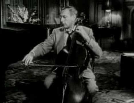 Gregor Piatigorsky plays Tchaikovsky Waltz