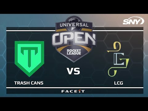 TRASH CANS vs LCG - Universal Open Rocket League