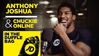 """It's Important To Be Frontline"" Anthony Joshua & Chuckie Online 
