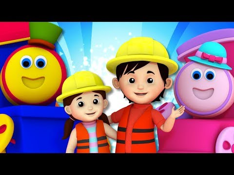 I've Been Working On The Railroad | Bob The Train | Rhymes For Kids
