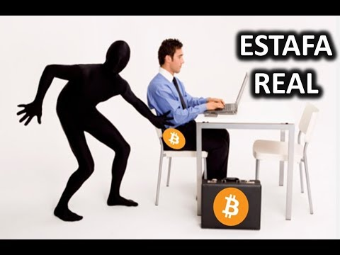 ESTAFA REAL Y EN VIVO CON BITCOIN