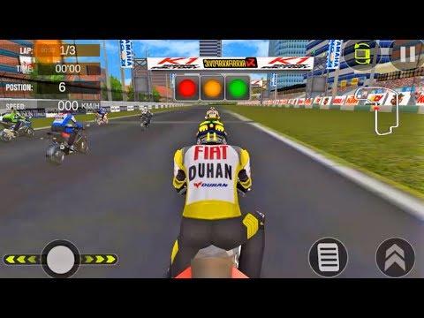 Juegos De Motos Para Niños - Real Moto Gp Racing World - Motos De Carreras