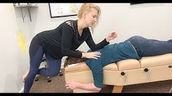 Relief for PAIN BETWEEN SHOULDER BLADES Chiropractic ADJUSTMENT