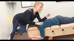 Relief for PAIN BETWEEN SHOULDER BLADES Chiropractic ADJUSTMENT