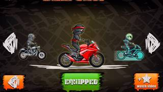 Moto X3m Bike Racing Gameplay Android / Ios - Motocross Trials Game - All Bikes Unlocked