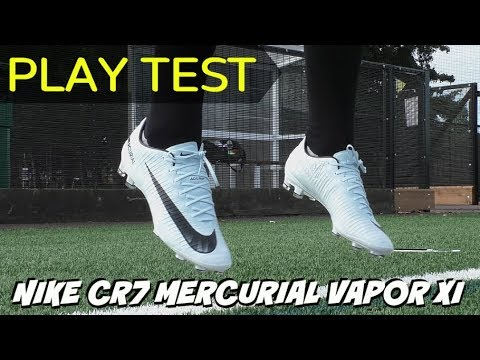 ae84b94bf88c8 NEW CR7 FOOTBALL BOOTS! | Nike Mercurial Vapor XI PLAY TEST | 2017 Cut to  Brilliance Chapter V