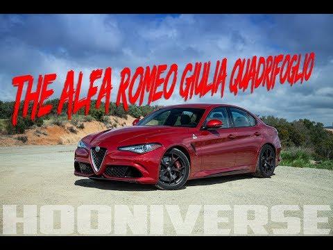 The Alfa Romeo Giulia Quadrifoglio is the best sports sedan out there