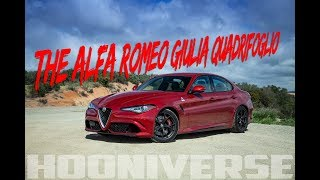 The Alfa Romeo Giulia Quadrifoglio is the best sports sedan out there