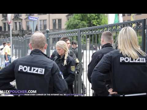 Dresden, Germany Bilderberg 2016 - Security, Protests & Arrivals
