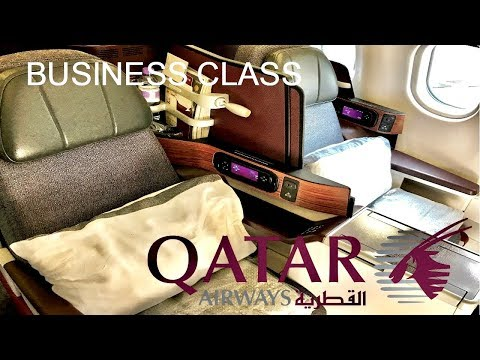 Qatar Airways Business Class Airbus A330 Doha to Colombo Review