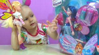 Кукла Блум (Муза?) Винкс  с гелем для волос Winx Bloom doll