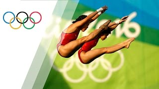 Chinese pair wins Women's Synchronised Diving 10m gold