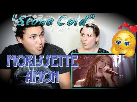 """MORISSETTE AMON - """"Stone Cold"""" (COUPLES REACTION)"""