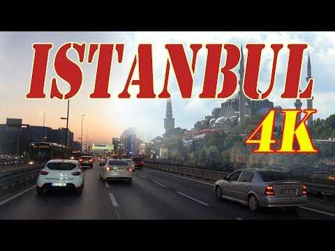 Istanbul Turkey 4K. City | Sights | People