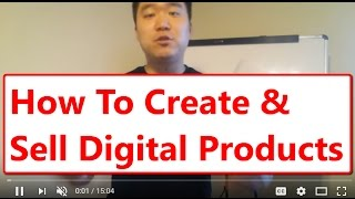 How to Create & Sell Digital Products with Just 4 Webpages!
