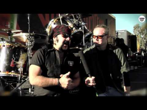 SABIAN Talks with Vinnie Paul at UPROAR