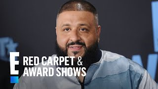 how dj khaleds son helped him get over his only fear e live from the red carpet