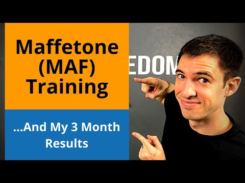 MAFFETONE LOW HEART RATE TRAINING FOR RUNNERS | And My Experience...