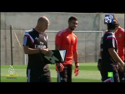 Zidane debuta como entrenador del Castilla