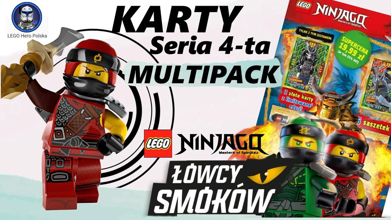 Lhp Lego Ninjago Karty Seria 4 Multipack Youtube
