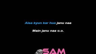 Phir Mohabat Mtv Unplugged Arijit Singh karaoke Sam Karaoke