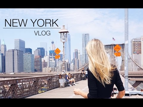NEW YORK, VLOG | Manhattan, Central Park, Brooklyn...