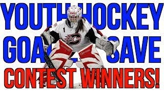 Youth Hockey Goalie Save Contest WINNERS!
