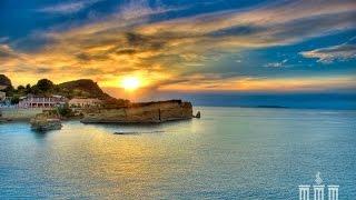 видео Отдых с детьми в Греции на острове Корфу