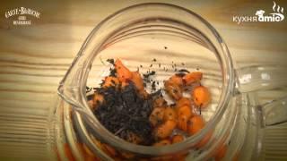 Тонизирующий чай из облепихи и травы Саган-Дали