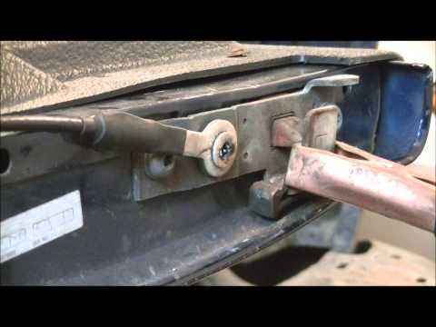 1992 Ford F150 Tailgate Hinge Repair Replace Funnydog Tv
