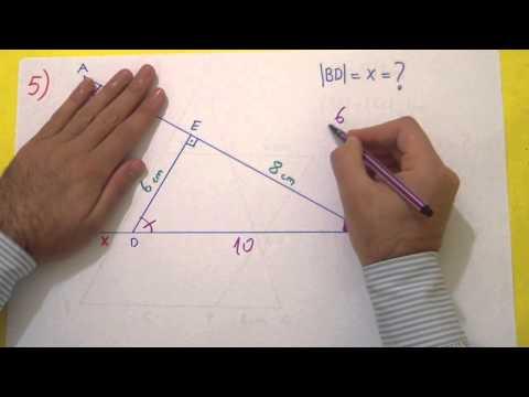 9. Sınıf 2. Dönem 1. Yazılı Soruları Şenol Hoca Matematik