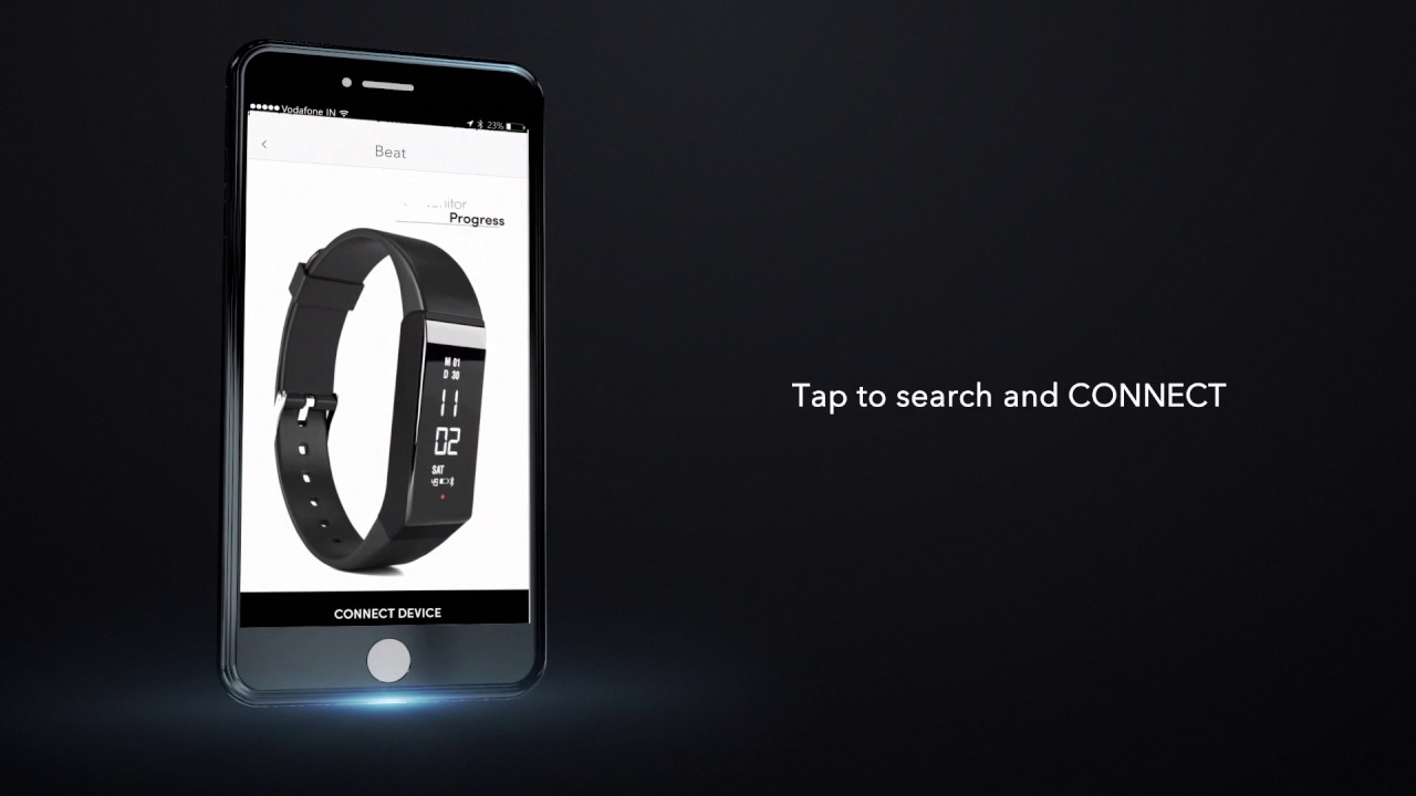 29b3cf9ba0aa58 How to connect Boltt Fitness Tracker with Boltt Health App. Boltt Sports  Technologies